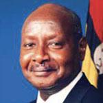 President Museveni of Uganda